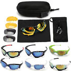2015 Cycling Riding Bicycle Sport Protective Goggle SunGlasses UV400 W/3 lens