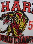 ED HARDY CHRISTIAN AUDIGIER MENS  PLATINUM TIGER CHAMPS TEE SHIRT NWT STONES