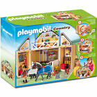 PLAYMOBIL 5418 My Secret Play Box Horse Stable - Country