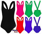 New Womens Disco Shiny Cross Back Bodysuit Ladies Stretchy Leotard Sexy Top