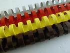 20x Plastic binding combs 21ring various  colours 20mm  capacity 165 sheets