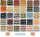 25pcs Swarovski Crystal Pearls Beads 5810 Round 6mm * Many Colours *