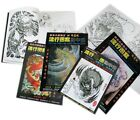 Tattoo -Flash- Books -24 Books To Choose From- Mixed Designs + Line Drawings