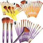 19PCS Makeup Brushes Set Eyeshadow Foundation Powder Blusher Eyeliner Lip Brush