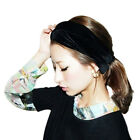 New Arrival Fashion Celeb Style Neon Headband Vintage Stretch Velvet Turban