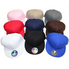 Youth Kids Flat Bill Snap back Hat Baseball Cap - 32 Colors - 5 & 10 Piece Lots
