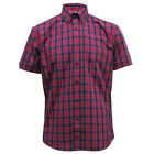 Red Check Warrior Connery Red Tartan Mod Skin 0i0i7 Short Sleeve Shirt S - 3XL