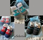 SOFT TOUCH BABY BOY SHOE SOCKS-6/12 MONTH-CUTE TRAINER DESIGN-LOVELY COLOURS-NEW