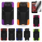 For Motorola Droid Ultra XT1080 Quality Hard Rubber & Soft Silicone Hybrid Case