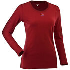 Women's St. Louis Cardinals Relax LS 100% Cotton Washed Jersey Scoop Neck Tee