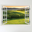 Full Colour Italian Landscape Countryside Wall Sticker Art Decal mural transfer