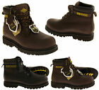 Mens Leather NORTHWEST TERRITORY Safety Toe Cap Rugged Grippy Tough Shoes Boots