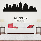 Austin Skyline Wall Sticker Skyline Wall Decal Art
