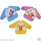 Waterproof Catch-All Catch and Fold Animal Bib with Sleeves 3 Designs BNWT