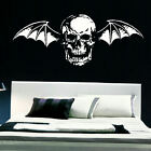 LARGE AVENGE SEVENFOLD LOGO DEATH BAT  WALL STICKER TRANSFER