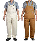Ben Davis Bib Overalls Brown Duck 862 Cotton Carpenter Double knee Overall 32-50