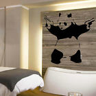 LARGE BANKSY PANDA WALL ART STICKER TRANSFER FROM UK POSTED SAME DAY