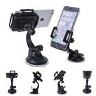 BLACK CAR MOUNT WINDOW DOCK WINDSHIELD SUCTION HOLDER FOR CELL PHONES SMARTPHONE