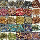 1440pcs facefed Czech Crystal Rhinestones beads Pointed Back Pick Colors & Sizes