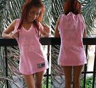 Ladies I'm too Sexy Pink Shirt Jersey Dress Custom Embroidered