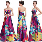 Ever Pretty Ladies Hot Printed Long Maxi Evening Formal Prom Gown Dresses 09603