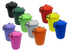 COLOURED BIN 50L LITRE IDEAL FOR ANIMAL FEED / HORSES / CATS / DOGS / BIRDS.