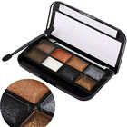 8 Colors Shimmer Smoky Eyeshadow Makeup Palette Shading Powder Cosmetic Compact