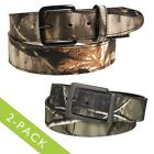 2 Camo Belts Men's & Kids Assorted Styles Realtree Mossy Oak Hunting Camouflage