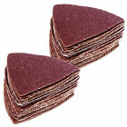 Sanding Sheets Velcro Pads 50 Universal Sander Multitool Grit Triangle Hook Loop