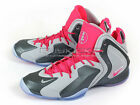 Nike LIL Penny Posite Sports Basketball Sneakers Wolf Grey/Hyper Pink 630999-001