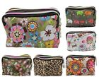 BONAMART Zip around Waterproof Coin Wallet Purse Bag Cosmetic Toiletry Bag