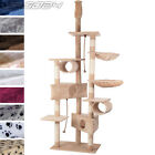 Cat Kitten Scratching Post Tree Sisal Climbing Exercise Activity Centre Toy 7ft