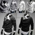 Mens Hoodie Hooded Jumper Sweatshirt Jacket Coat Sweater Hoodie Hoody 35DI
