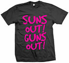 SUNS OUT GUNS OUT WEIGHT LIFTING GYM SURF SWIM DOPE SUMMER T SHIRT MENS LADY KID