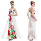 Ever Pretty Fashion Maxi Printed Long Party Evening Celebrity Formal Dress 09999