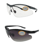 Bifocal Cycling Wrap Around Sunglasses 100% UV Protection Integral Lens 162