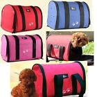 M/L Size Pet Dog Cat Puppy Portable Travel Carrier Tote Cage Bag Crates Kennel
