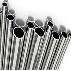 """Stainless Steel Tube MIRROR POLISHED Size Options 1/2"""", 3/4"""", 1"""", 1-1/2"""" & 2"""""""