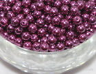 Wholesale 50Pcs Lots Glass Pearl Round Spacer Loose Beads 6mm
