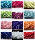NEW Wholesale 50 Pcs Top Quality Lots Round Spacer Loose Czech Glass 6mm