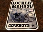 DALLAS COWBOYS NFL plastic sign