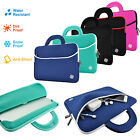 Kozmicc Neoprene Sleeve Case Cover Pocket Bag Handle for 11 12 Inch Laptops
