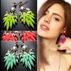 Hot Selling New Fashion Cute Crystal Dangle Earrings Ear Earring Jewelry A1845