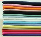 """by the yard Very Soft 100% Cotton Fabric Solid Color 55""""  #4"""