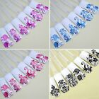 1x 108PCS Hot Stamping Nail Art Decals Sticker Decoration Full Wraps Flower