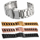 Waterproof Silicone Rubber Watch Strap Band Deployment Buckle 18/ 20/ 22/ 24mm