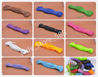 wholesale 5M 100M Woven Braided Leather Cord Diy Jewelry fit Necklace Bracelet