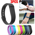 3 Pcs Large Size Replacement Wrist Band For Fitbit Flex Bracelet With Clasps New