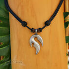 Leather Chain Kite Surfer Necklace Fashion Jewelry Handmade New Zealand