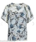 NEW MARKS&SPENCER AUTOGRAPH COLLECTION FLORAL 2 PART SHELL BLOUSE RTL £39.50